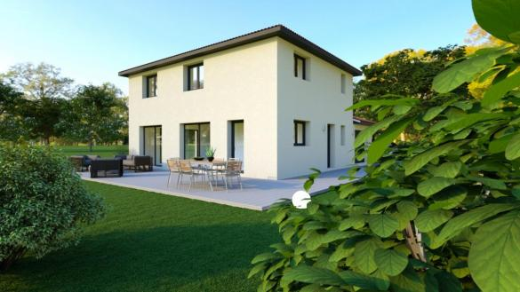 Maison à vendre .(120 m²)(BEAUREGARD) avec (TRADICONFORT 69)