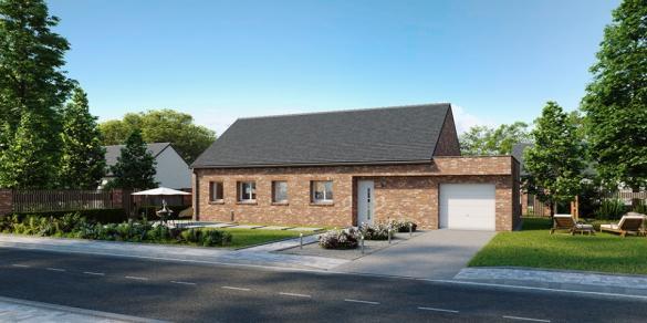 Maison+Terrain à vendre .(90 m²)(BOYELLES) avec (MAISONS FRANCE CONFORT)