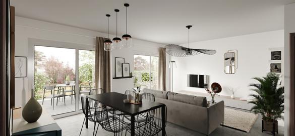 Maison+Terrain à vendre .(90 m²)(POMMIER) avec (MAISONS FRANCE CONFORT)
