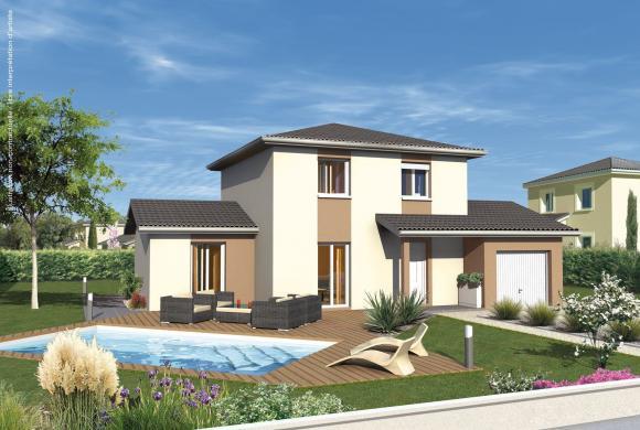 Maison+Terrain à vendre .(97 m²)(COLIGNY) avec (MAISONS PUNCH)
