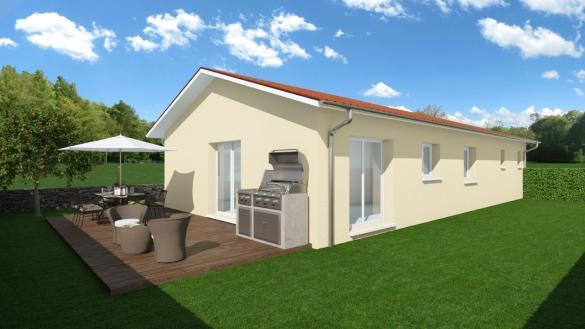 Maison+Terrain à vendre .(72 m²)(REVONNAS) avec (MAISONS PUNCH)