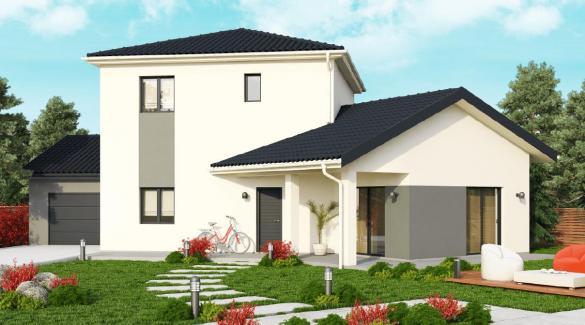 Maison+Terrain à vendre .(126 m²)(BOURGOIN JALLIEU) avec (DEMEURES CALADOISES)