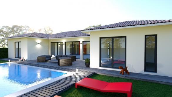 Maison+Terrain à vendre .(145 m²)(LAIZ) avec (DEMEURES CALADOISES)