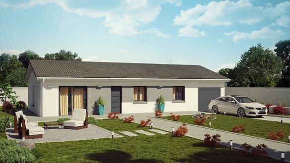 Maison+Terrain à vendre .(95 m²)(SAINT ANDRE SUR VIEUX JONC) avec (DEMEURES CALADOISES)