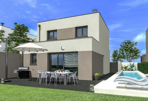 Maison+Terrain à vendre .(90 m²)(COURNONTERRAL) avec (MAISONS FRANCE CONFORT)