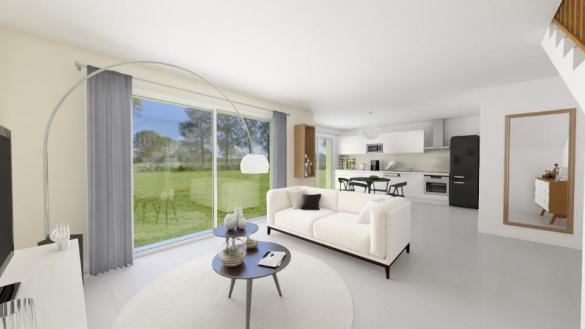 Maison+Terrain à vendre .(92 m²)(SAINT ANDRE DE SANGONIS) avec (MAISONS FRANCE CONFORT)