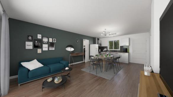 Maison+Terrain à vendre .(83 m²)(SAINT ANDRE DE SANGONIS) avec (MAISONS FRANCE CONFORT)