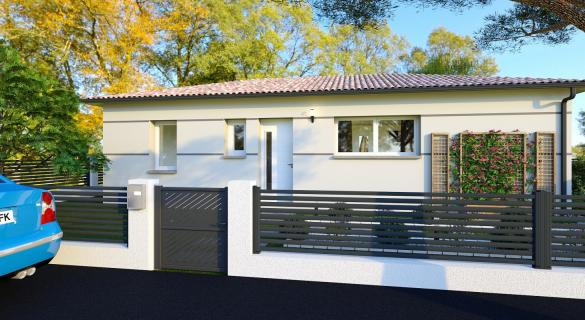 Maison+Terrain à vendre .(85 m²)(FABAS) avec (VILLAS ET MAISONS DE FRANCE)