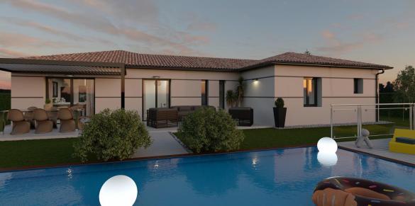 Maison+Terrain à vendre .(95 m²)(SAUBENS) avec (VILLAS ET MAISONS DE FRANCE)