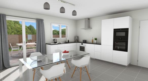 Maison+Terrain à vendre .(90 m²)(LANTA) avec (VILLAS ET MAISONS DE FRANCE)