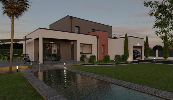Maison+Terrain à vendre .(134 m²)(SAINT LYS) avec (VILLAS ET MAISONS DE FRANCE)