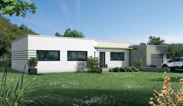 Maison+Terrain à vendre .(98 m²)(SAUBENS) avec (VILLAS ET MAISONS DE FRANCE)