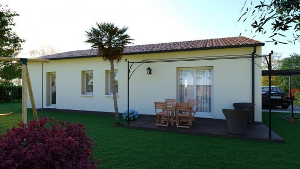 Maison+Terrain à vendre .(91 m²)(SAUBENS) avec (VILLAS ET MAISONS DE FRANCE)