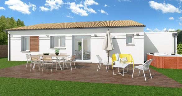 Maison+Terrain à vendre .(107 m²)(LABASTIDETTE) avec (VILLAS ET MAISONS DE FRANCE)