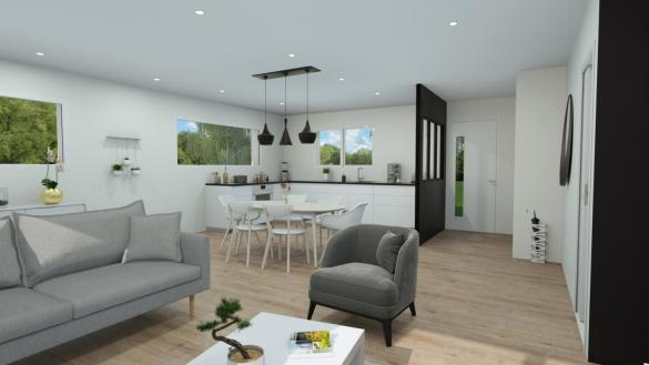 Maison+Terrain à vendre .(94 m²)(LANTA) avec (VILLAS ET MAISONS DE FRANCE)