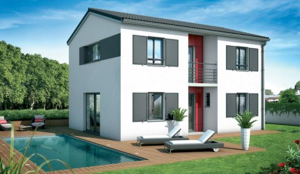 Maison+Terrain à vendre .(100 m²)(SAUBENS) avec (VILLAS ET MAISONS DE FRANCE)