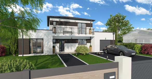 Maison+Terrain à vendre .(145 m²)(SAUBENS) avec (VILLAS ET MAISONS DE FRANCE)