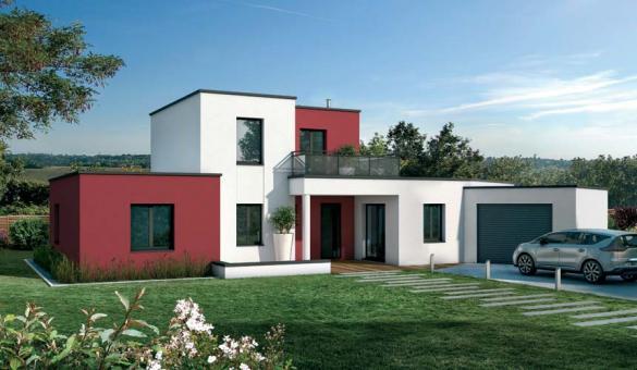 Maison+Terrain à vendre .(144 m²)(SAUBENS) avec (VILLAS ET MAISONS DE FRANCE)