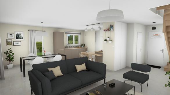 Maison+Terrain à vendre .(97 m²)(TOULOUSE) avec (VILLAS ET MAISONS DE FRANCE)