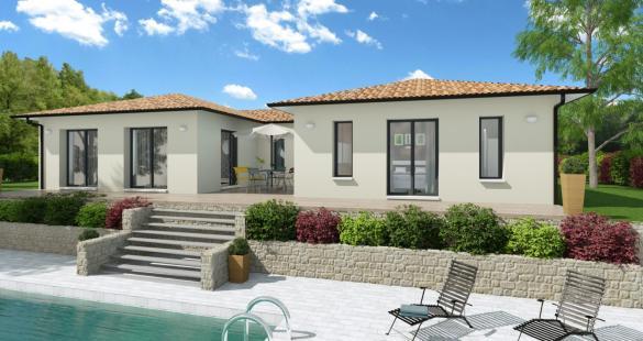 Maison+Terrain à vendre .(115 m²)(SAUBENS) avec (VILLAS ET MAISONS DE FRANCE)