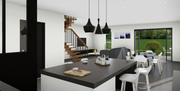 Maison+Terrain à vendre .(94 m²)(LA SALVETAT SAINT GILLES) avec (VILLAS ET MAISONS DE FRANCE)