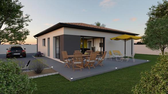 Maison+Terrain à vendre .(100 m²)(AUTERIVE) avec (VILLAS ET MAISONS DE FRANCE)