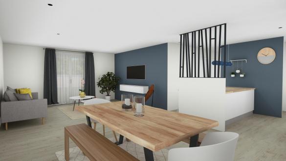 Maison+Terrain à vendre .(83 m²)(AUCAMVILLE) avec (VILLAS ET MAISONS DE FRANCE)