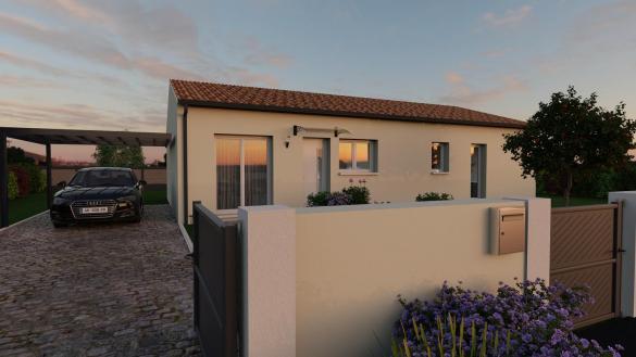 Maison+Terrain à vendre .(91 m²)(LABASTIDETTE) avec (VILLAS ET MAISONS DE FRANCE)