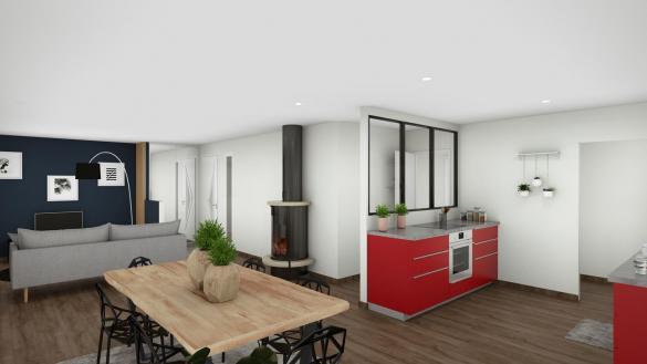 Maison+Terrain à vendre .(88 m²)(MONTBARTIER) avec (VILLAS ET MAISONS DE FRANCE)