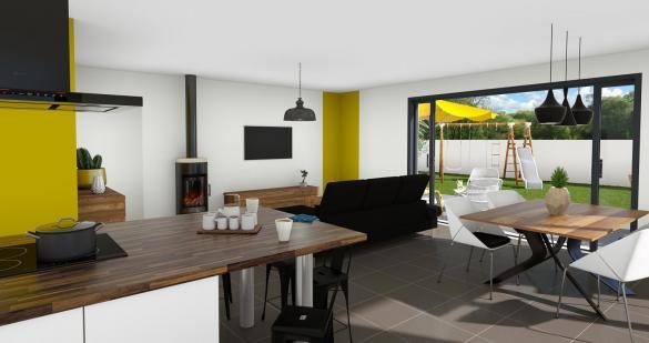 Maison+Terrain à vendre .(100 m²)(MONTASTRUC LA CONSEILLERE) avec (VILLAS ET MAISONS DE FRANCE)