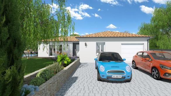 Maison+Terrain à vendre .(120 m²)(MONTBERON) avec (VILLAS ET MAISONS DE FRANCE)