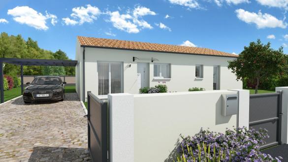 Maison+Terrain à vendre .(91 m²)(MONTASTRUC LA CONSEILLERE) avec (VILLAS ET MAISONS DE FRANCE)