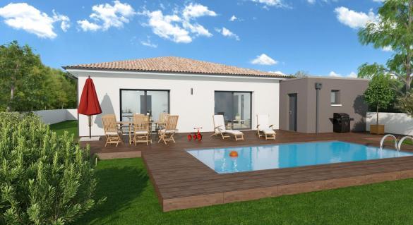 Maison+Terrain à vendre .(89 m²)(FRONTON) avec (VILLAS ET MAISONS DE FRANCE)