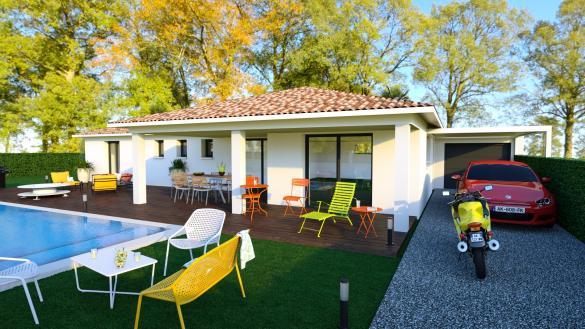 Maison+Terrain à vendre .(100 m²)(UZES) avec (ART ET TRADITIONS MEDITERRANEE)