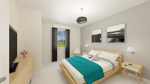 Maison+Terrain à vendre .(115 m²)(BLODELSHEIM) avec (MAISONS PHENIX)