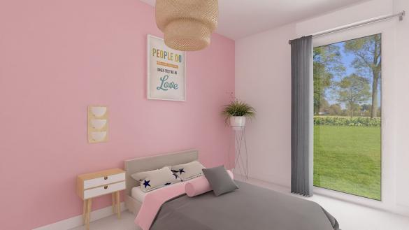 Maison+Terrain à vendre .(88 m²)(WITTENHEIM) avec (MAISONS PHENIX)