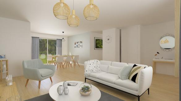 Maison+Terrain à vendre .(88 m²)(BERENTZWILLER) avec (MAISONS PHENIX)