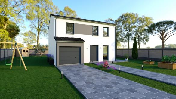 Maison+Terrain à vendre .(122 m²)(LARGITZEN) avec (Maisons Phénix-68270-WITTENHEIM)