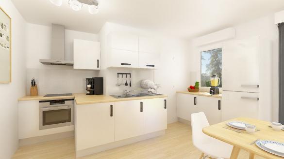 Maison+Terrain à vendre .(84 m²)(RUOMS) avec (MAISONS PHENIX)