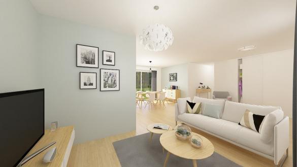Maison+Terrain à vendre .(84 m²)(ROSIERES) avec (Maison Familiale St Marcel les Valence)