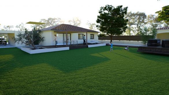 Maison+Terrain à vendre .(88 m²)(FELINES) avec (Maison Familiale St Marcel les Valence)