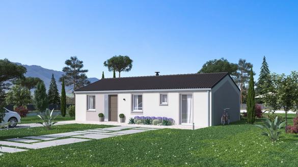 Maison+Terrain à vendre .(84 m²)(RUOMS) avec (Maison Familiale St Marcel les Valence)