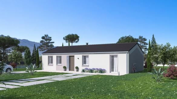 Maison+Terrain à vendre .(96 m²)(SAINT LAGER BRESSAC) avec (Maison Familiale St Marcel les Valence)
