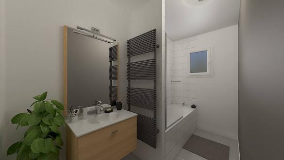 Maison+Terrain à vendre .(99 m²)(LE GRAND SERRE) avec (Maison Familiale St Marcel les Valence)