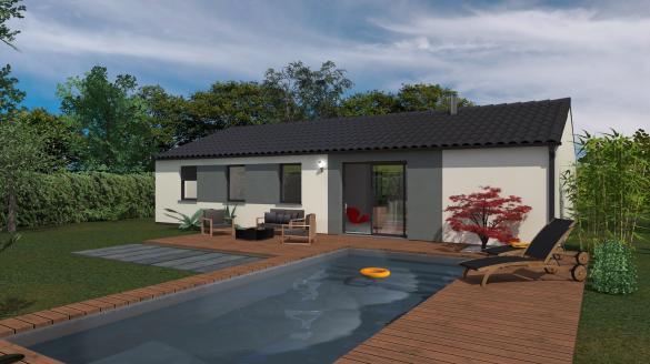 Maison+Terrain à vendre .(102 m²)(GEYSSANS) avec (Maison Familiale St Marcel les Valence)