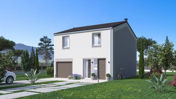 Maison+Terrain à vendre .(101 m²)(MORAS EN VALLOIRE) avec (Maison Familiale St Marcel les Valence)