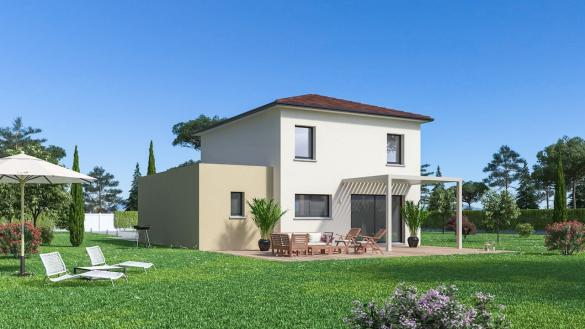 Maison+Terrain à vendre .(108 m²)(SAINT MARCEL LES SAUZET) avec (Maison Familiale St Marcel les Valence)