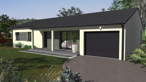Maison+Terrain à vendre .(87 m²)(MONTELEGER) avec (Maison Familiale St Marcel les Valence)