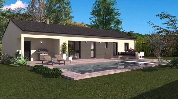 Maison+Terrain à vendre .(87 m²)(ROCHEGUDE) avec (Maison Familiale St Marcel les Valence)