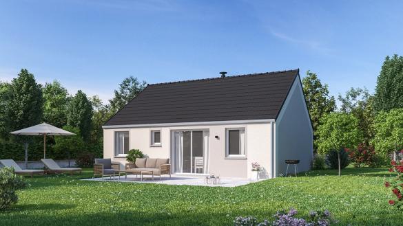 Maison+Terrain à vendre .(75 m²)(LUCHEUX) avec (MAISONS PHENIX)